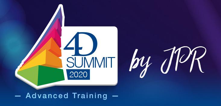 Invitation personnelle : participez au 4D Summit 2020 - Advanced Training by JPR